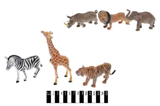 Набір диких тварин, 3шт, 2 види, HJ666-2, фото 2