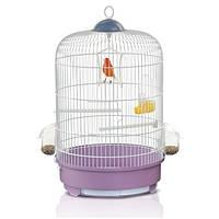 Клетка для птиц Imac Milly, латунь, d 33x48 см