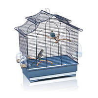 Клетка для птиц Imac Pagoda Export, синяя, 50x30x53 см