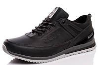 Мужские  кожаные кроссовки  E-S, фото 1