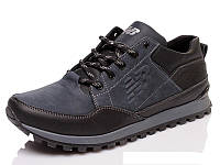 Мужские демисезонные кожаные кроссовки  New Balance, фото 1
