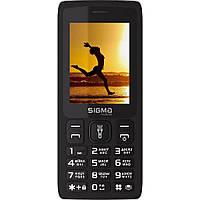 Мобільний телефон Sigma mobile X-Style 34 NRG Black