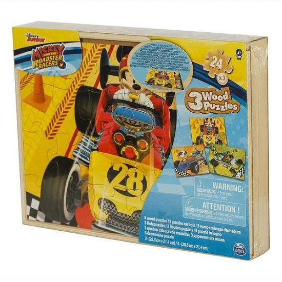 Пазл деревянный «Микки» 3 в 1 (21*28 см) SM98297/6041359 Spin Master