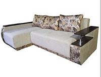 Кутовий диван Берлін, єврокнижка з великим спальним місцем