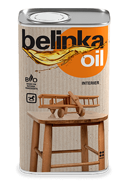 Масло для дерева (для детской мебели и игрушек) BELINKA Oil Interier, 2,5л