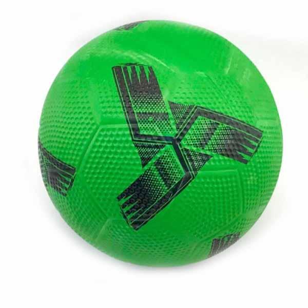 Мяч футбольный резиновый для асфальта 10-6