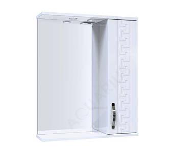 Зеркало Аквариус ANTIK со шкафчиком и подсветкой 55 см