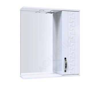 Зеркало Аквариус ANTIK со шкафчиком и подсветкой 60 см