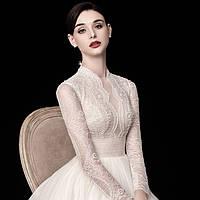 Свадебное платье. Весільна сукня пишна. Свадебное платье А силуэт пышное, фото 1