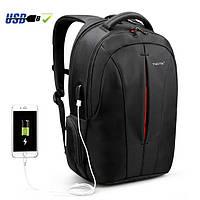 """Качественный рюкзак Tigernu T-B3105-2 Orange 15.6"""" USB для ноутбука, города, работы, учебы, поездок"""