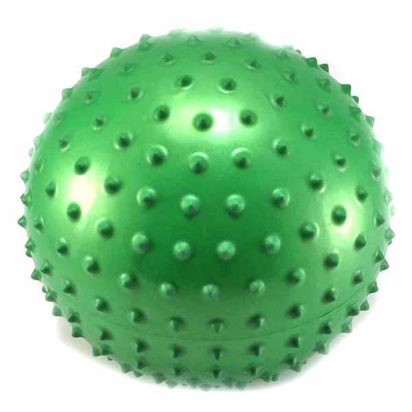 Мяч детский МS 0023 массажный с шипами (20,3см)