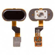 Шлейф Meizu M3s, M3s mini, U10 с кнопкой Home черная