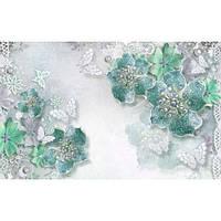 Фотообои Цветы из драгоценных камней (10505)