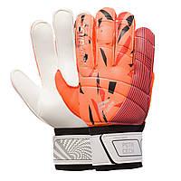 Перчатки вратарские RESPONSE Goalkepeer Gloves 508-1 размер 10 White-Orange