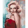 """Картина по номерам, холст на подрамнике, Люди """"Загадочность женщины"""" 40*50 см, без коробки"""