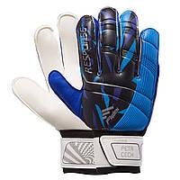 Перчатки вратарские RESPONSE Goalkepeer Gloves 508-1 размер 9 White-Blue-Black