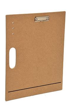 Планшет деревянный с зажимом А3
