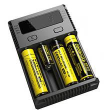 Зарядное устройство для аккумуляторов Nitecore NEW i4 (NEW I4)