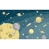 Фотообои Планеты в космосе (10558)