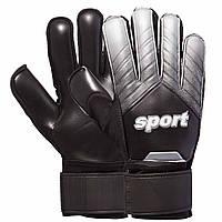 Перчатки вратарские Sport Goalkepeer Gloves 920 размер 8 Black-White