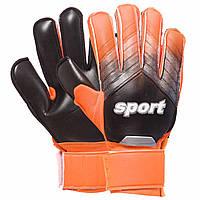 Перчатки вратарские Sport Goalkepeer Gloves 920 размер 8 Black-Orange