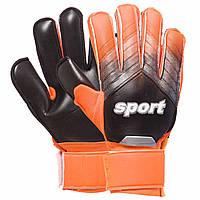 Перчатки вратарские Sport Goalkepeer Gloves 920 размер 9 Black-Orange