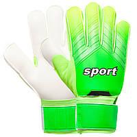 Перчатки вратарские Sport Goalkepeer Gloves 920 размер 10 White-Green