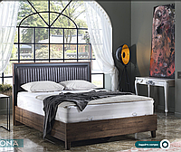 Кровать Alegro 1600х2000+под. антрацит (Беллона)