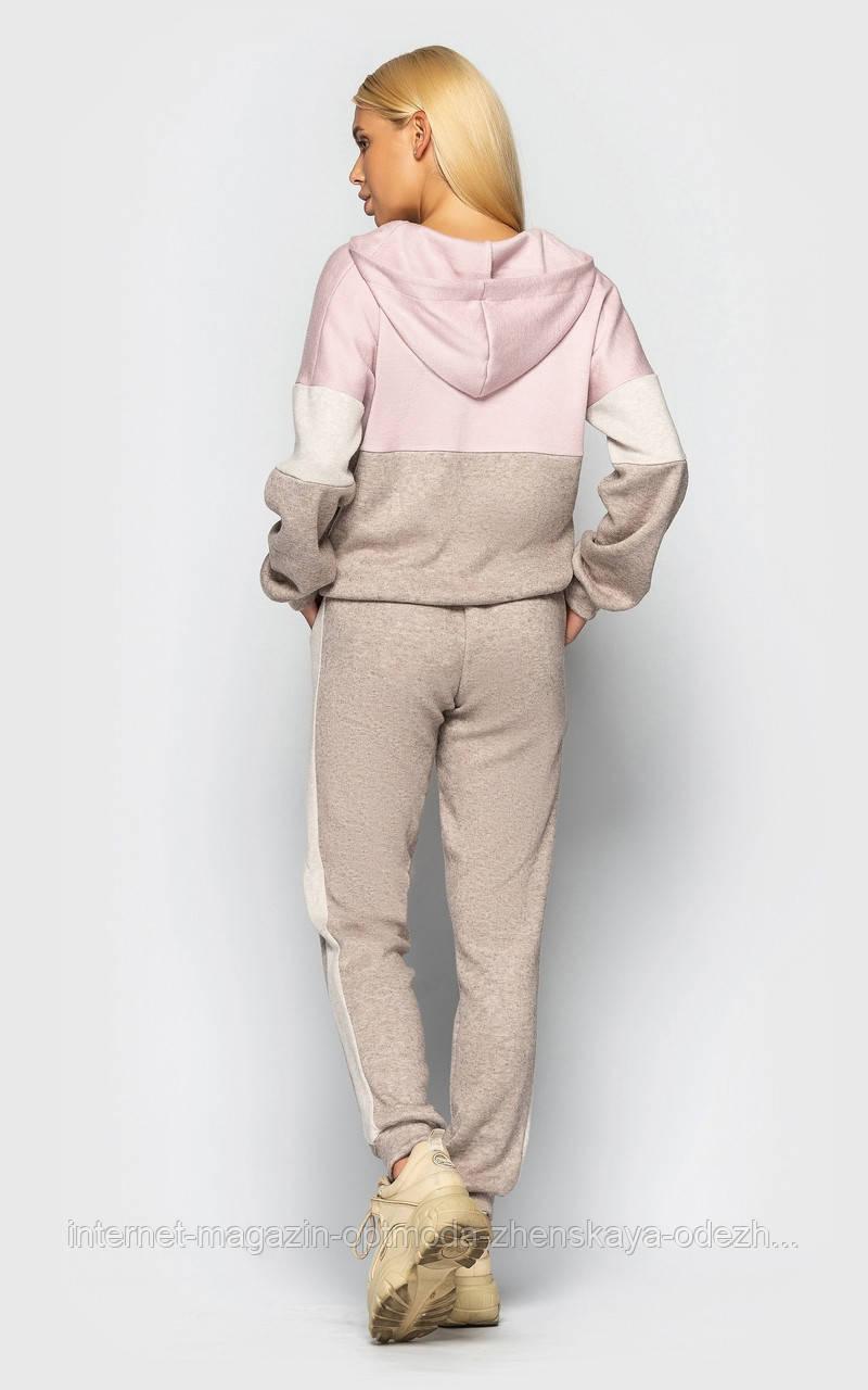 Женский спортивный костюм из ангоры с капюшоном, ангора, размеры С, М, Л