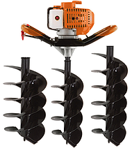 Мотобур Goodluck Super GEA 52/150 (в комплекте 1 шнек 150мм, 1 шнек 250мм и 1 шнек 300мм)
