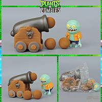 Растения против зомби | Plants vs Zombies Игровой набор №26 Гармата (Растения стреляют шариками)