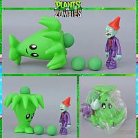 Растения против зомби | Plants vs Zombies Игровой набор №20 Бумеранг (Растения стреляют шариками в зомби)
