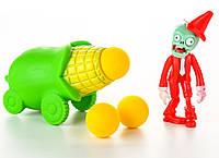 Растения против зомби | Plants vs Zombies Игровой набор №6 Кукуруза (Растения стреляют шариками в зомби)