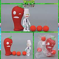 Растения против зомби | Plants vs Zombies Игровой набор №34 Перец Чили (Растения стреляют шариками)