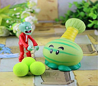 Растения против зомби | Plants vs Zombies Игровой набор №2 Арбузострел (Растения стреляют шариками, 40+видов)