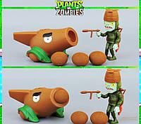 Растения против зомби | Plants vs Zombies Игровой набор №15 Кокосопульта (Растения стреляют шариками)