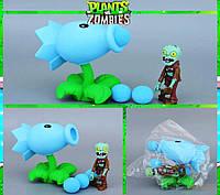 Растения против зомби | Plants vs Zombies Игровой набор №10 Леденой Горохострел(Растения стреляют шариками )
