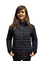 """Женская демисезонная полу батальная стеганая куртка """"Ruindo"""",стеганая курточка"""