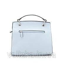 Сумка крос-боді David Jones, жіночий клатч 5168 блакитного кольору., фото 2