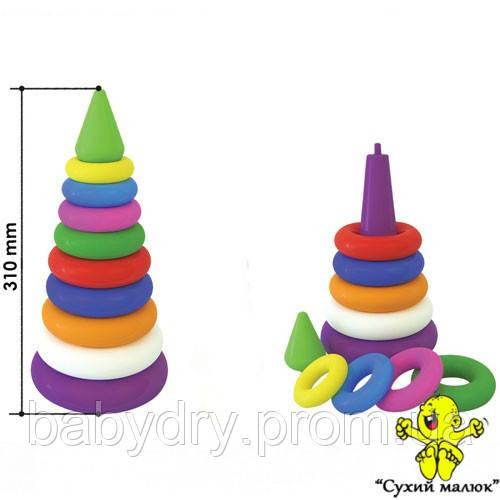Палатка дитяча намет 3306, піраміда, 1 вхід, розміри 112х114х115см.  - CM01824