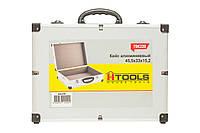 Ящик-кейс алюминиевый для инструмента, с перегородками (395*240*90 мм). HouseTools 79K222-S
