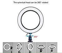 Кольцевая лампа для блогеров (16 см. диаметр кольца) без штатива