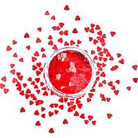 Фигурки для дизайна ногтей сердечки