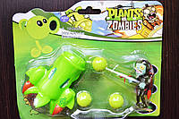 Растения против зомби | Plants vs Zombies Игровой набор №7 Спаржевый истребитель (Растения стреляют шариками )