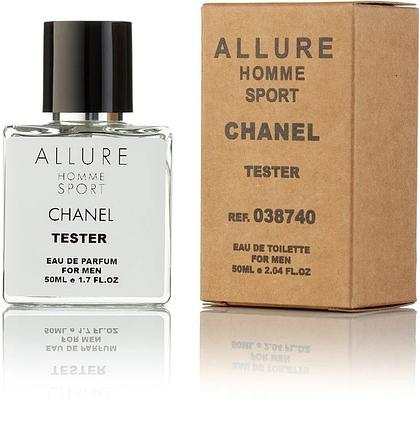 Туалетная вода Chanel Allure Homme sport EDT 50ML Orign tester, фото 2