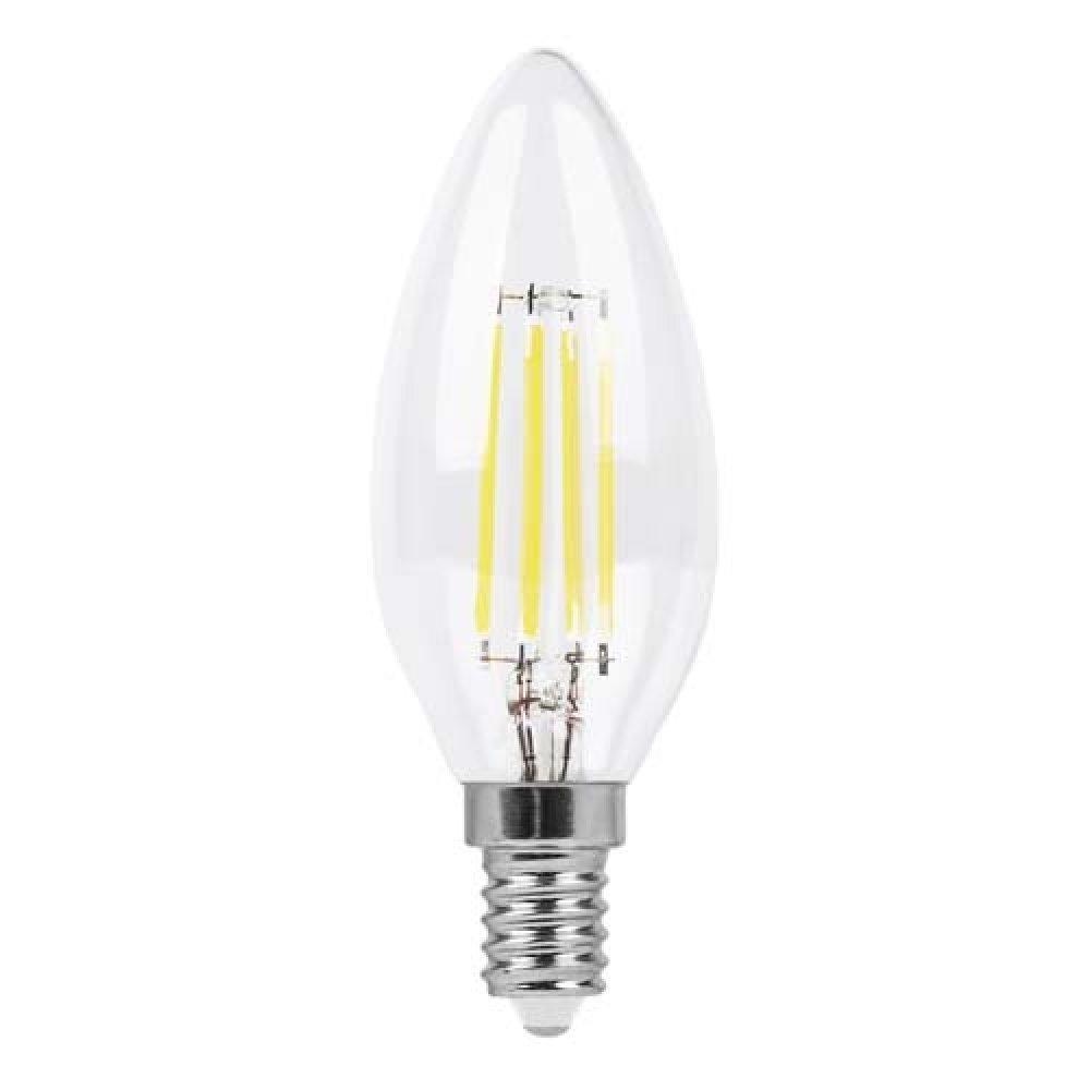 Светодиодная лампа Feron LB-158 C37 E14 230V 6W 600Lm 2700K