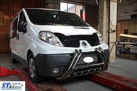Кенгурятник Renault Trafic (01-14) защита переднего бампера кенгурятники на для Рено Трафик Renault Trafic (01-14) d51х1,6мм
