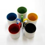 Чашка кольорова всередині і ручка, фото 4