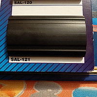 Декоративные Молдинги - Лента,35 мм черный полосой. Для автомобиля