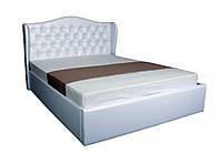 Кровать с мягким изголовьем и подъемным механизмом Грация MELBI 140х200